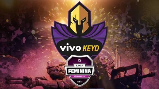 CS:GO: VIVO KEYD VENCE LIGA FEMININA GAMERS CLUB DE ABRIL